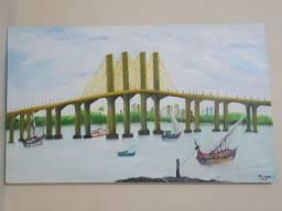 Vendo quadro da ponte newton Navarra (200) reais