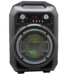 Caixa De Som Bluetooth Com Bateria Mp3 Fm BS12