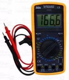 Multímetro Digital Com Capacímetro E Profissional