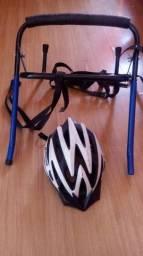 Suporte para bike e capacete