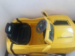 Carro Infantil Camaro Amarelo