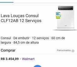 Lava-louça Consul 12 serviços