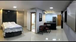 Apartamento uma suíte, Adrianópolis - Totalmente mobiliado