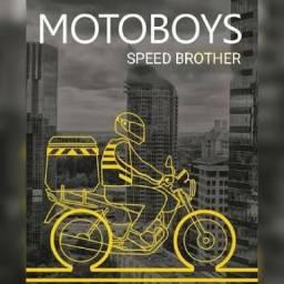 Vaga de emprego para motoboy