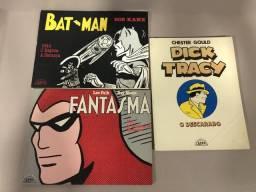 Hq antigo, Gibi, Quadrinhos - Lote 3 livros