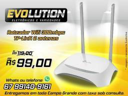 Roteador Wifi 300mbps Tp Link Tl Wr849n Wr 2 Antenas