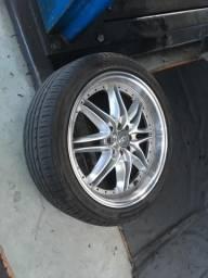 Rodas 17 e pneus 205/45