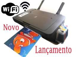 Impressora Multifuncional Wireless + Bulk de tintas / Promoção Produto Novo