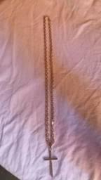 Cordão De Prata Cartier 950 60cm