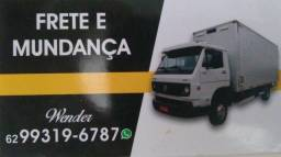 Frete retorno Araguaína pra Goiânia essa semana