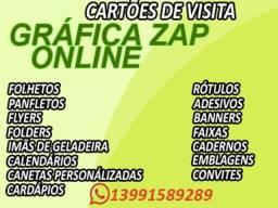 Gráfica rapida online promoção 3000 cartões de visita 99,00 reais
