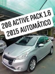 208 active pack 1.6 2015 automático - 2015