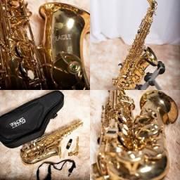 Sax Alto Eagle SA 500 Usado comprar usado  Duque de Caxias