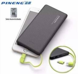 Carregador Portátil Pineng Original Pn-951 10000mah Power Ba