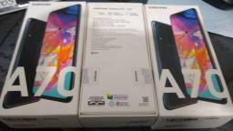 Samsung A70 , 128 GB, Preto lacrado
