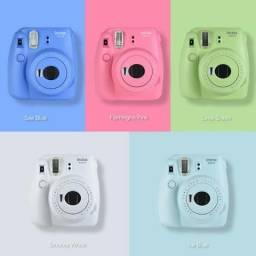 Máquina Fotográfica Instax Instantânea Mini 9