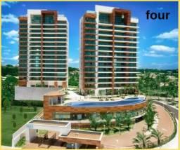 Apartamento 4 quarto, 4 suítes e varanda gourmet, em Jaguaribe/four