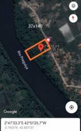 Oferta terreno em Barreirinhas as margens do Rio preguiças