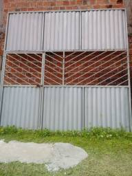 Portões em metalon 2.500 cada