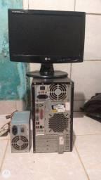 Vendo Monitor, duas fontes e a CPU.
