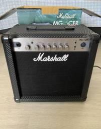 Amplificador/cubo/caixa Marshall MG15CFR - novo comprar usado  Recife