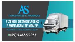 Caminhão Baú retornando vazio do litoral região 02/10