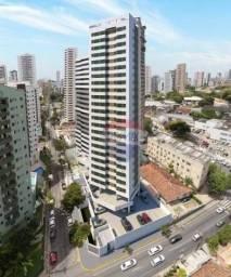Apartamento com 2 dormitórios à venda, 55 m² por R$ 189.000,00 - Casa Caiada - Olinda/PE