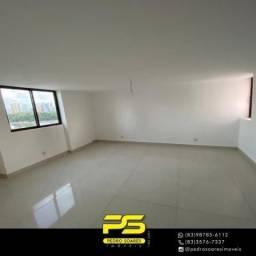 Cobertura com 4 dormitórios para alugar, 200 m² por R$ 6.000/mês - Manaíra - João Pessoa/P