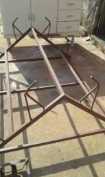 Bagageiro de escadas de ferro para todos carros