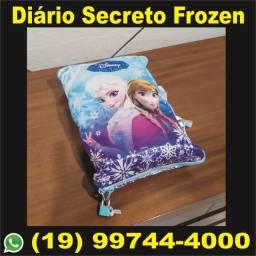 Diário Secreto da Frozen c/ cadeado - Sem Uso