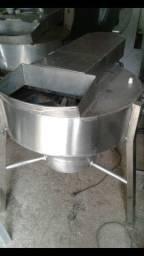 Máquina de depenar frango inox