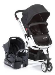 Carrinho de Bebê Travel System Mobi Black White Safety 1st