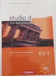 Studio D B2.1 - Mittelstufe1: B2 Kurs Und Ubungsbuch. Inkl. Lerner Cd Alemão
