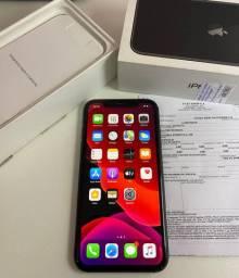 IPhone 11 preto 64gb original Apple semi novo SÓ TROCAS