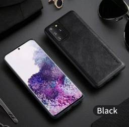 Capa de Couro Samsung Galaxy S20 e S20 plus. Novo.