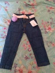 Calça jeans tamanho 1aninhos