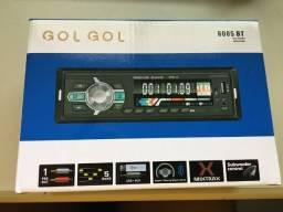 Som Automotivo Bluetooth gogl gol 6085 bt - aceito cartão