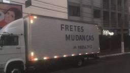 Caminhão Baú retornando vazio de Florianópolis e região dia 02 a 03/10