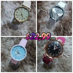 Relógios a partir de $22,90