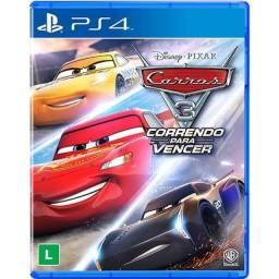 Carros 3 - PS4 - lacrado