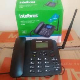 Telefone rural Novo Intelbras. Na Garantia