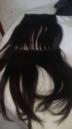 2 telas de cabelo natural 100%
