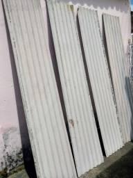 17 Uni. - Telha Fibrocimento 2,44mx50cmx4mm Vogatex Eternit