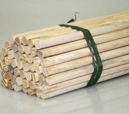 Bastao em madeira - macrame - artesanato 40 cm x 19mm