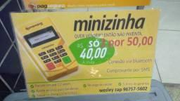 Minizinha bluetooth Pag seguro nova lacrada 2 por$50