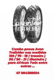 Pneus p / African Twin Marca AVON