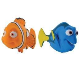 Bonecos Nemo e Dory Disney Latoy Mordedor Infantil Macio Bebê