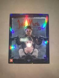 DVD Blu-ray 3D João e Maria: Caçadores de Bruxa