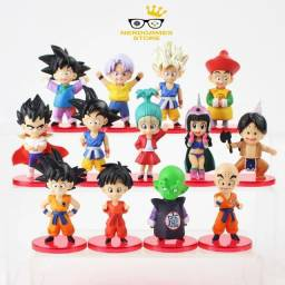 Action Figure dragon ball z kit com 13 personagens