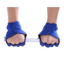 Luva Treino Musculação Academia Azul